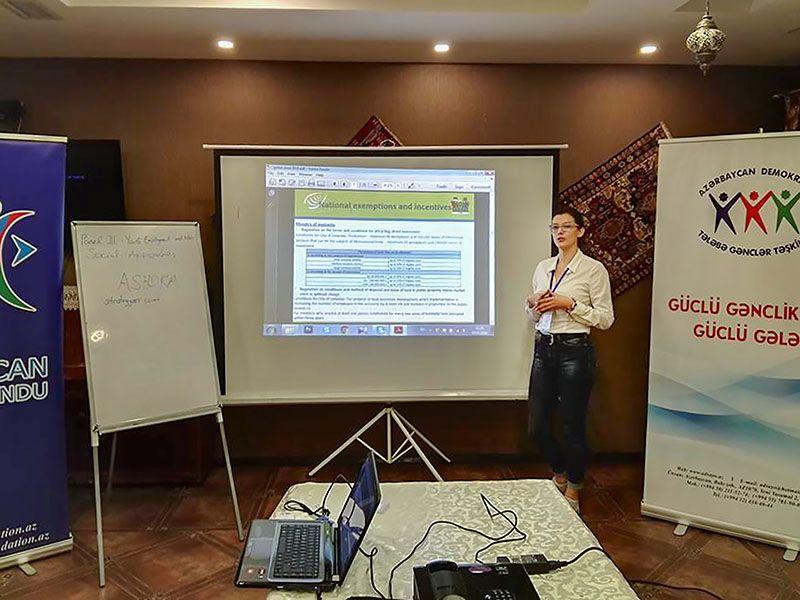 Leskovčanka predstavila potencijale svog grada i Srbije u Azerbejdžanu