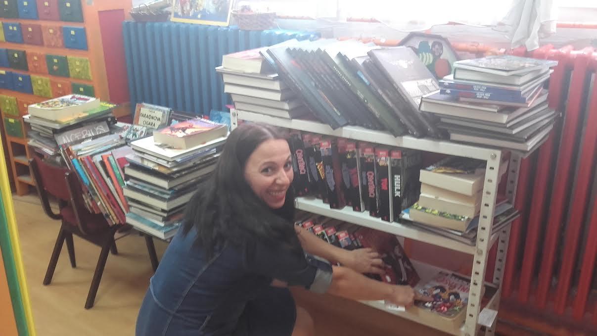 biblioteka strip