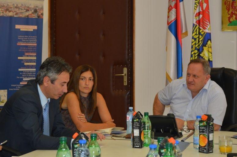 Gradonačelnik Vranja u gostima kod gradonačelnika Leskovca