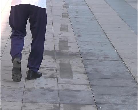 Novo šetalište u Vranju umazano uljem, čišćenje plaća izvođač radova