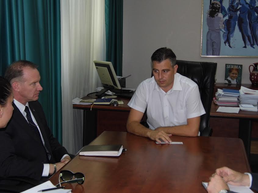 Vojni izaslanik ambasade SAD u Pirotu