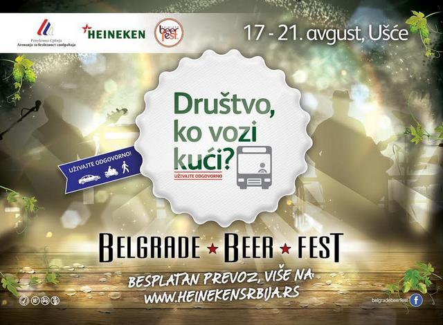 Hajneken organizuje besplatan prevoz na Beer Fest