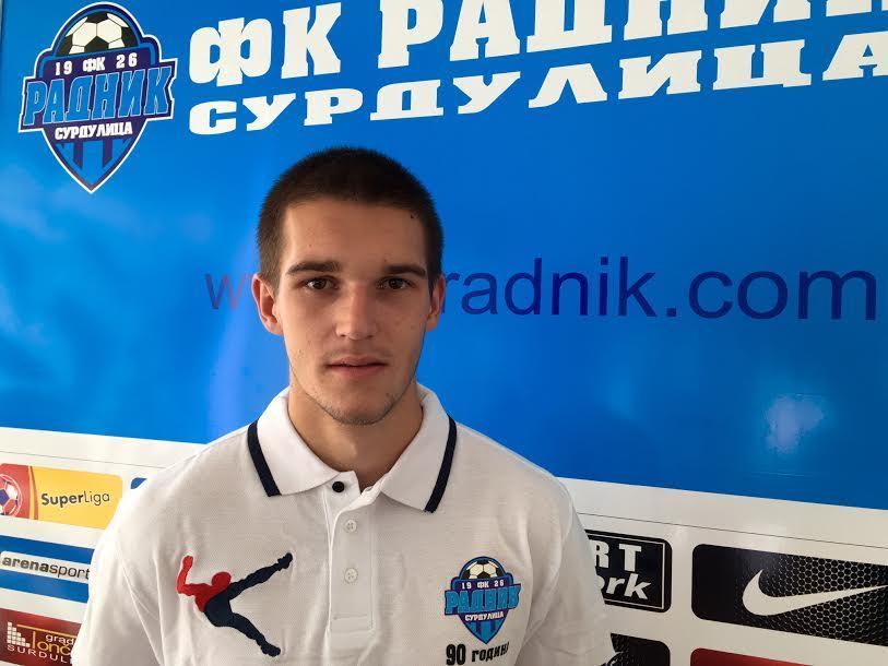 Igor Zlatanović iz FK Radnik igra za reprezentaciju