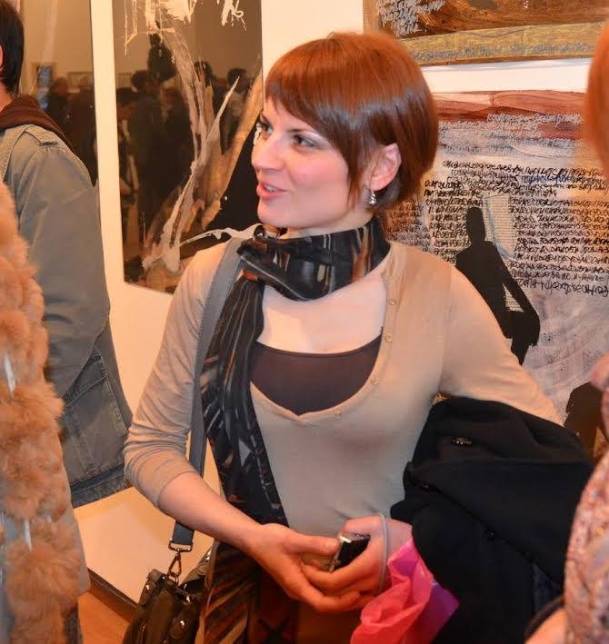 Jovana Mitić, slikarka koja izlaže na dva kontineta