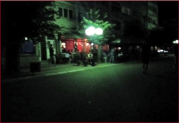 Centar Lebana se uveče pretvara u kafić za mlade