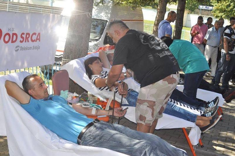 Hanačni prikupljaju krv za pacijente na VMA