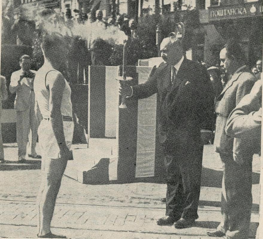 "Podesećanja: Vlasotinčanin Vlada Ilić i ""Hitlerova"" olimpijada"