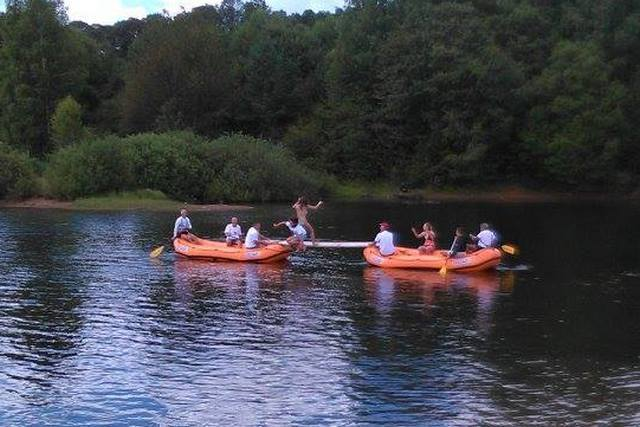 Spektakl zaljubljenika kanua i kajaka