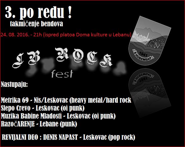 Treći LB Rock festival u Lebanu