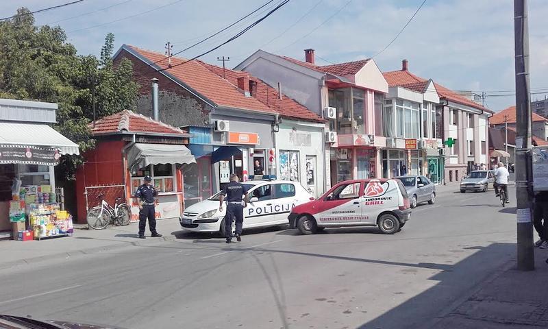 MALER Sudar s automobilom saobraćajne policije