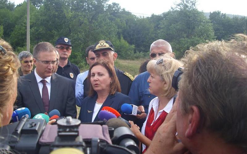 Stefanović i Bačvarova razgovarali o migrantskoj krizi