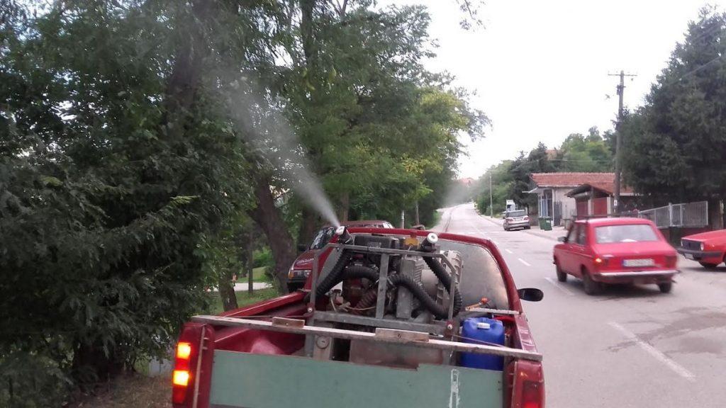 Sutra novo zaprašivanje protiv komaraca u Leskovcu