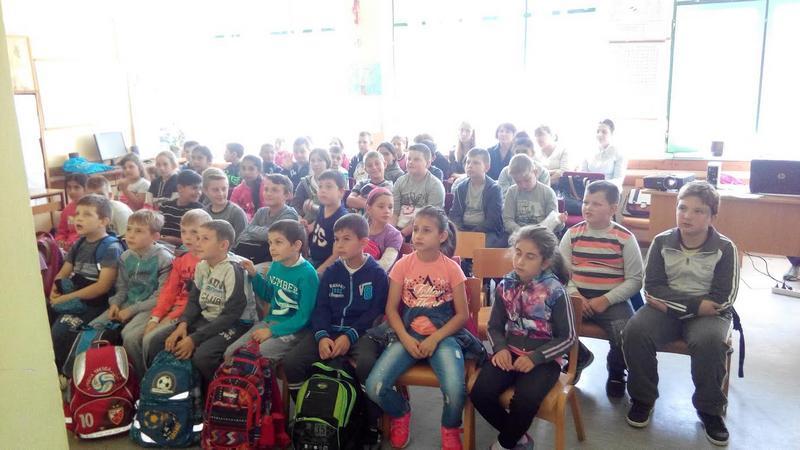 Ekolozi u poseti učenicima iz Lipovice