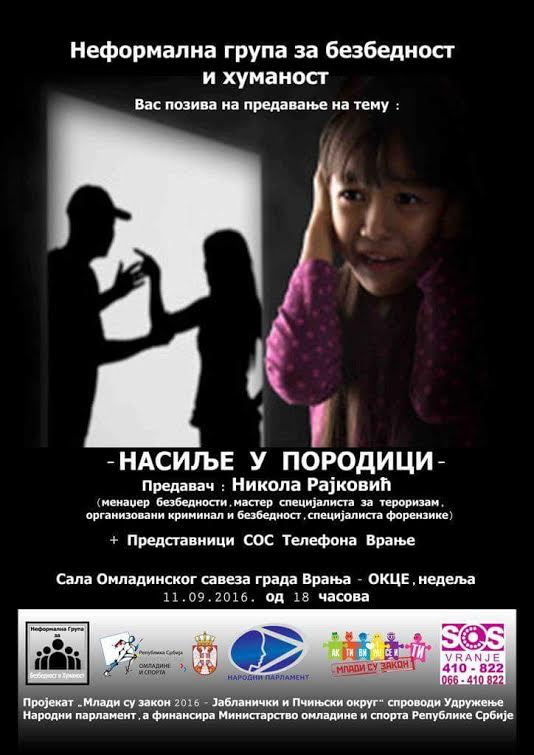 Mladi u borbi protiv nasilja nad mladima