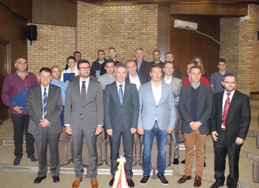 PROGRES dodelio sredstva za preduzetnike u Vranju