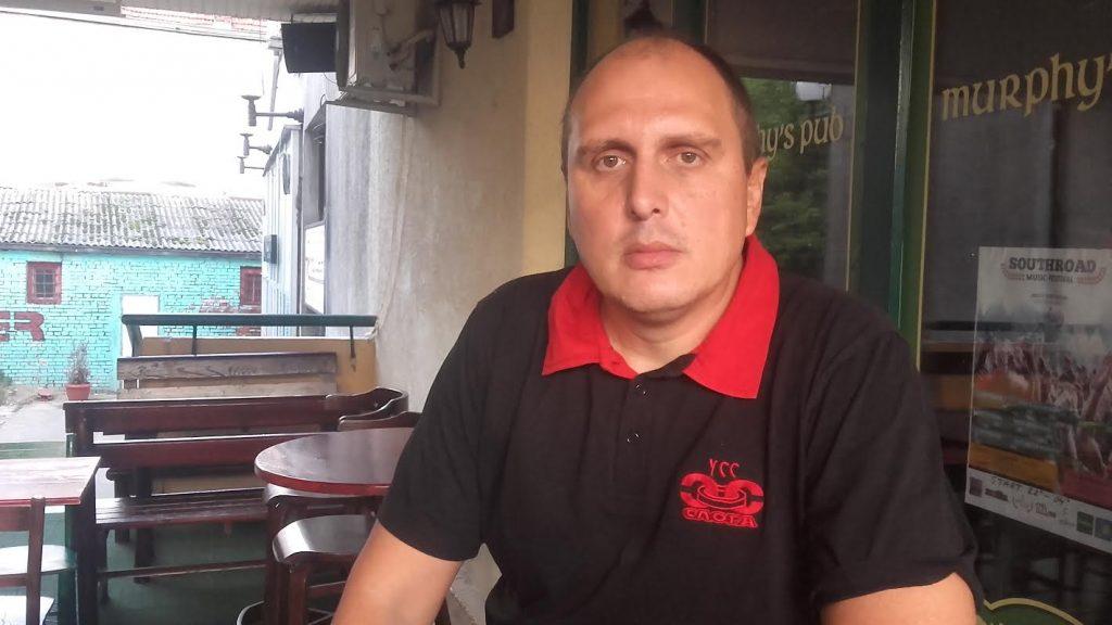 "Sindikat Sloga performansom protiv ugnjetavanja radnika ""Geoxa"""