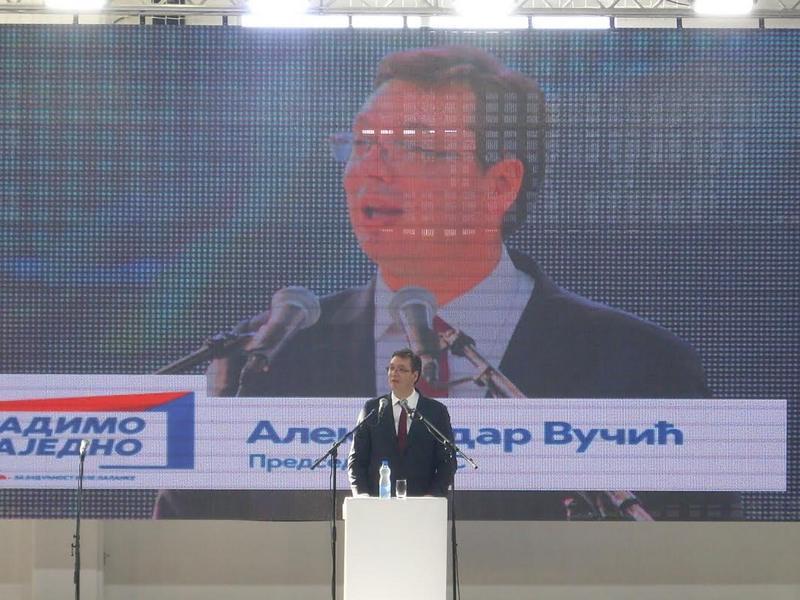 Vučić obećao veće plate i penzije