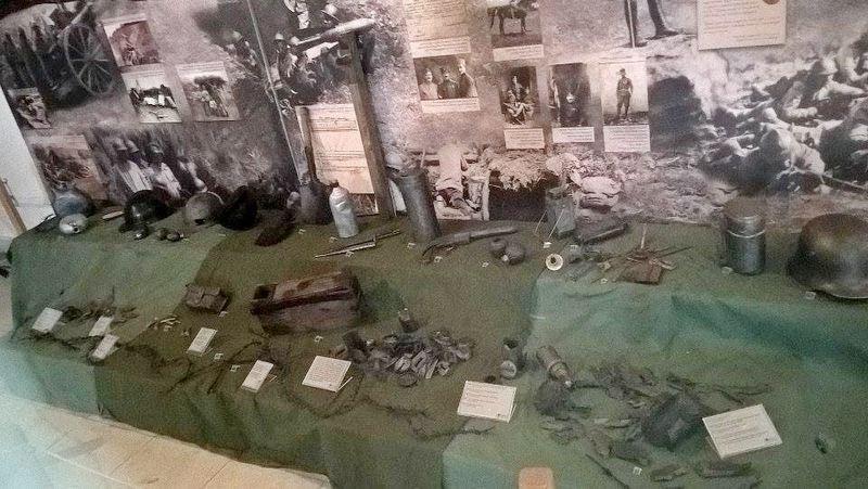Eksponanti kao svedoci muka i patnji u Prvom svetskom ratu