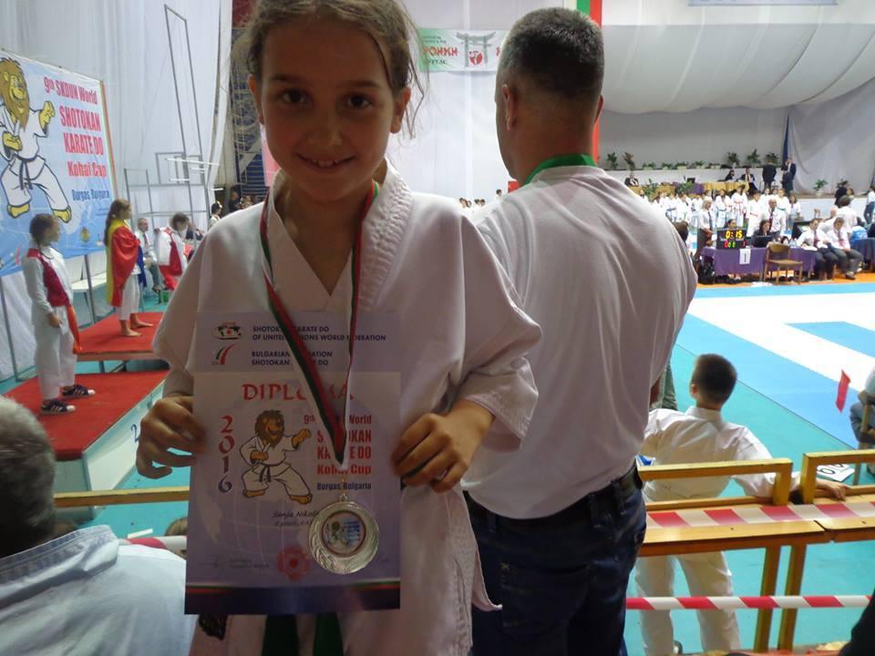 Mala Sanja Leskovcu donela medalju