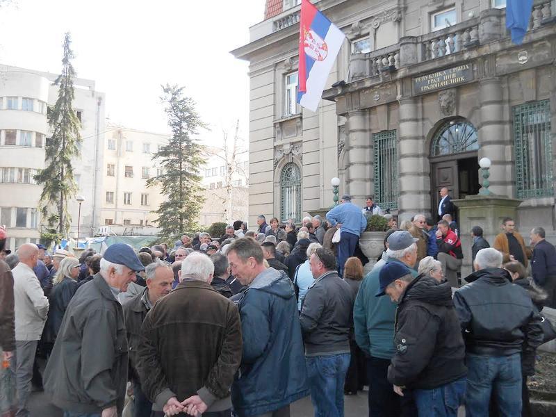 Novi protest radnika u Nišu, ništa još od obećanih plata