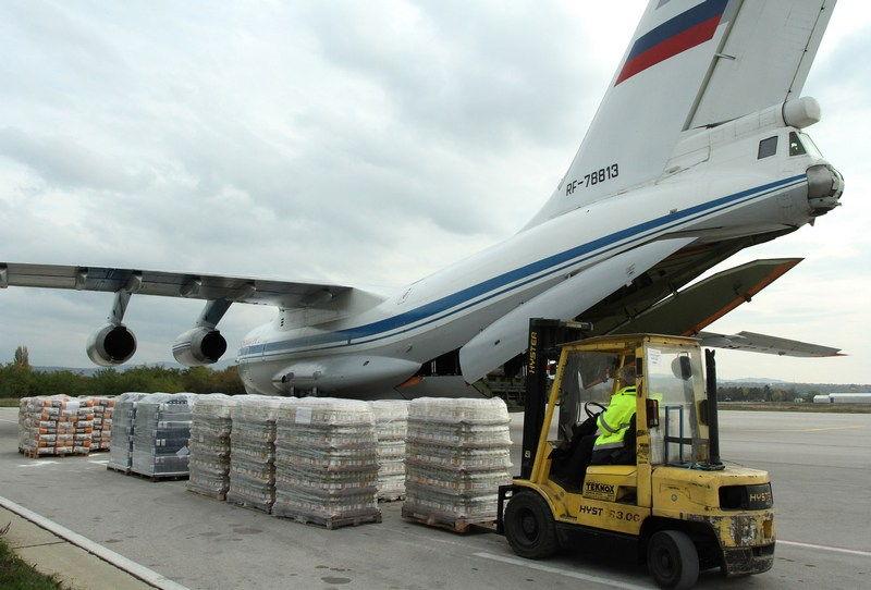 Srbija pomaže Alepu: Odleteo avion iz Niša