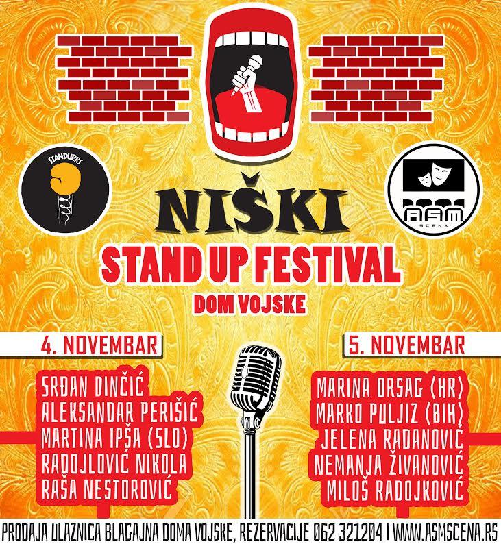 Počinje Niški stand up festival