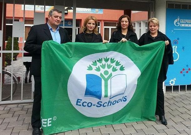 Škole sa međunarodnom Zelenom eko zastavom