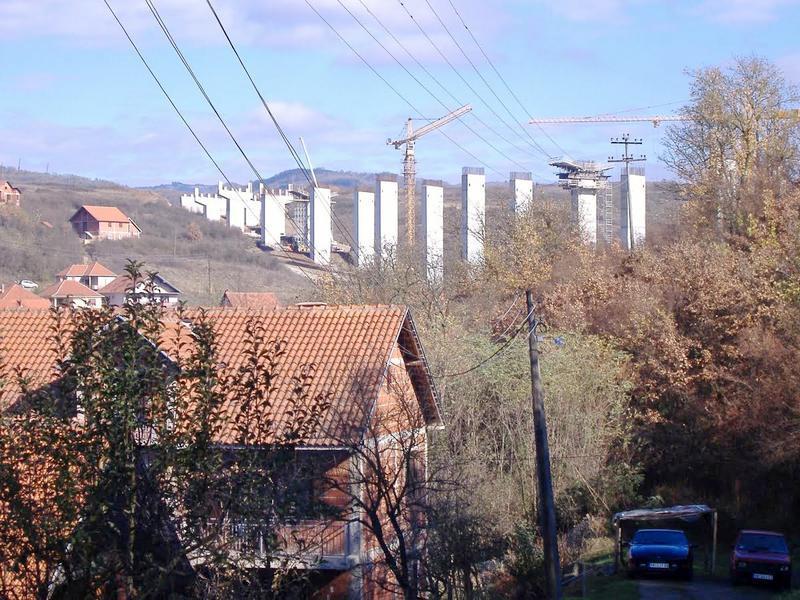 Obustavljen saobraćaj u Kržincu zbog radova na mostu