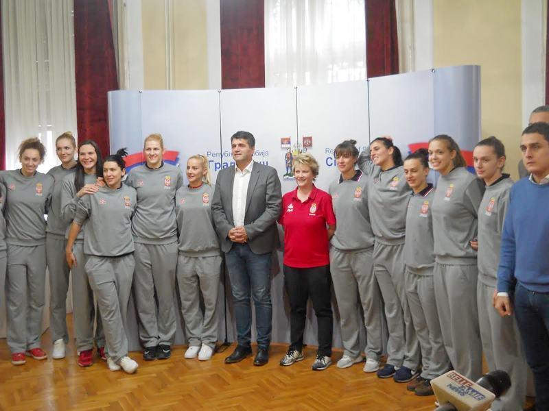 """Srpske košarkašice traže od Nišlija """"vetar u leđa"""" protiv Ukrajinki"""