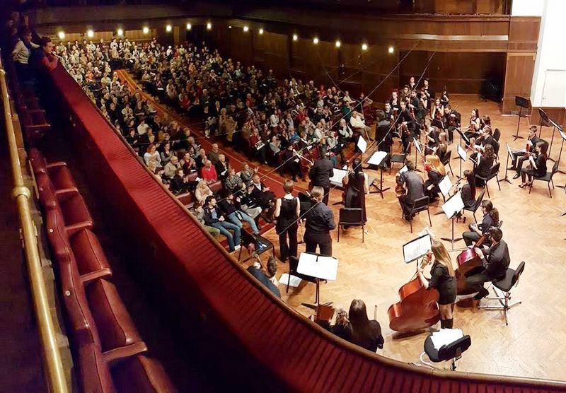 """Orkestar """"Concertante"""" zadivio publiku u """"Kolarcu"""""""