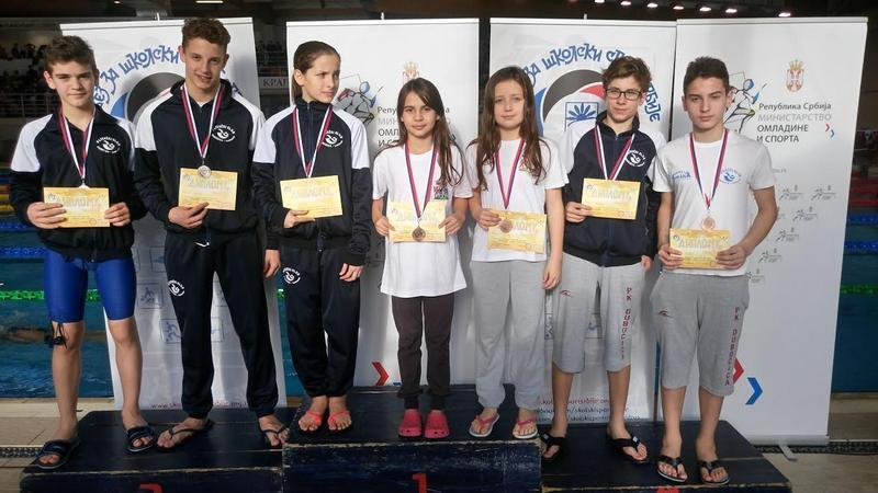 Učenici osvojili 8 medalja na republičkom takmičenju u plivanju