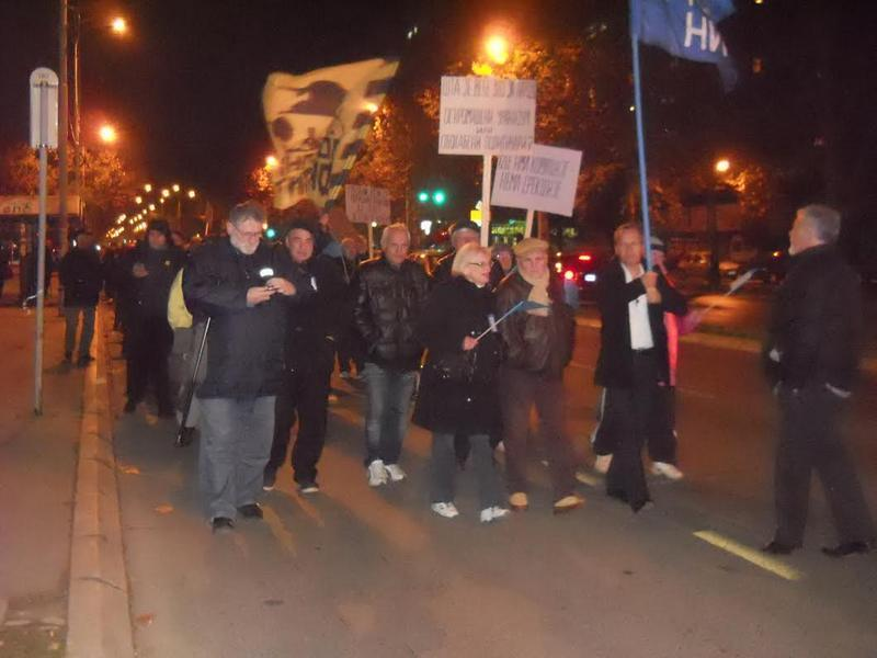 Nišlije protestovale zbog poskupljenja grejanja