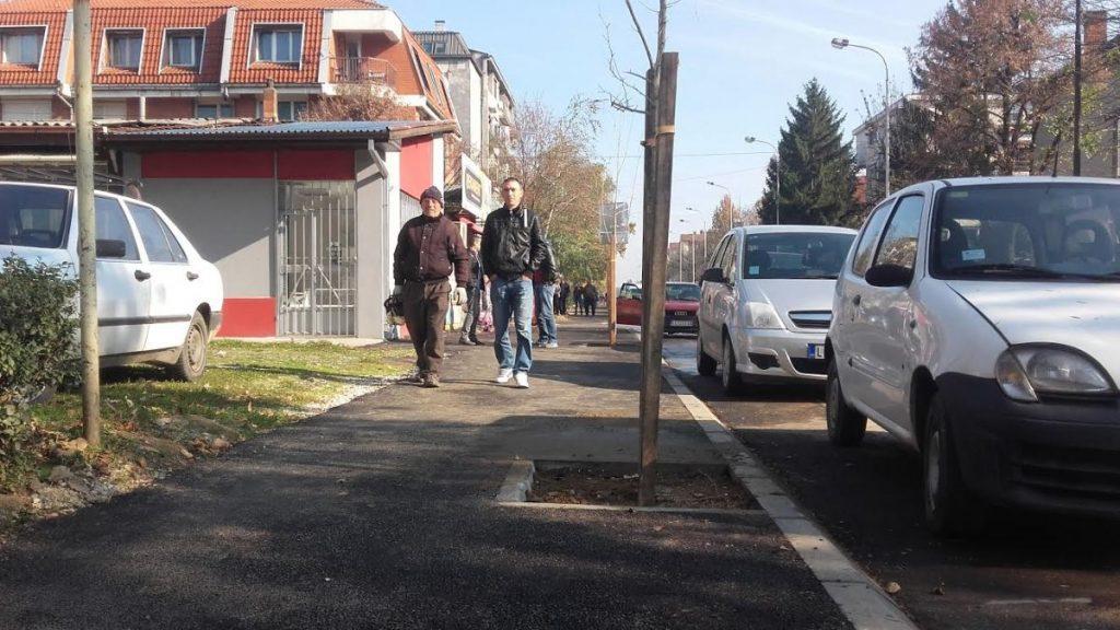 Novi trotoari i drvo prijateljstva u Radničkoj ulici