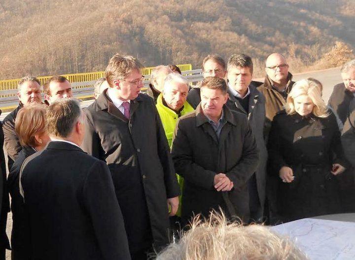Vučić i Orban obišli istočni krak Koridora 10