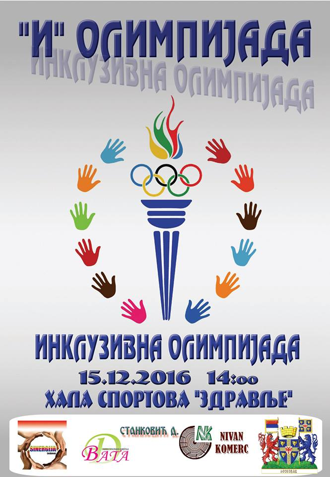 Prva Inkluzivna olimipijada u Leskovcu