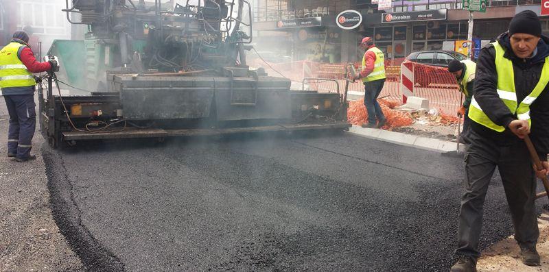 Završava se asfaltiranje Topličine ulice