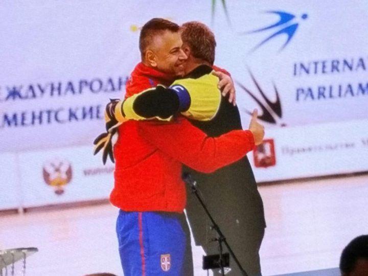 Pejčić osvojio bronzu na Sportskim parlamentarnim igrama u Moskvi
