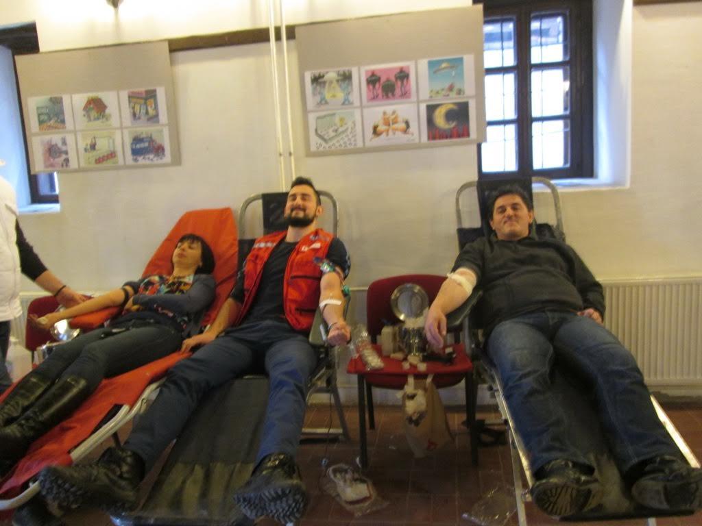 Bibliotekari dali krv