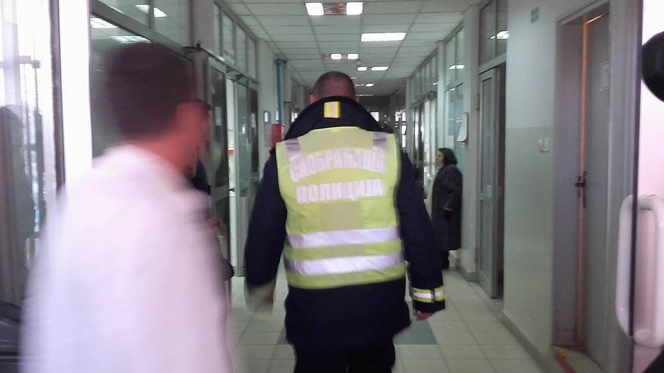 Beskućnik lomio stakla u Urgentnom centru