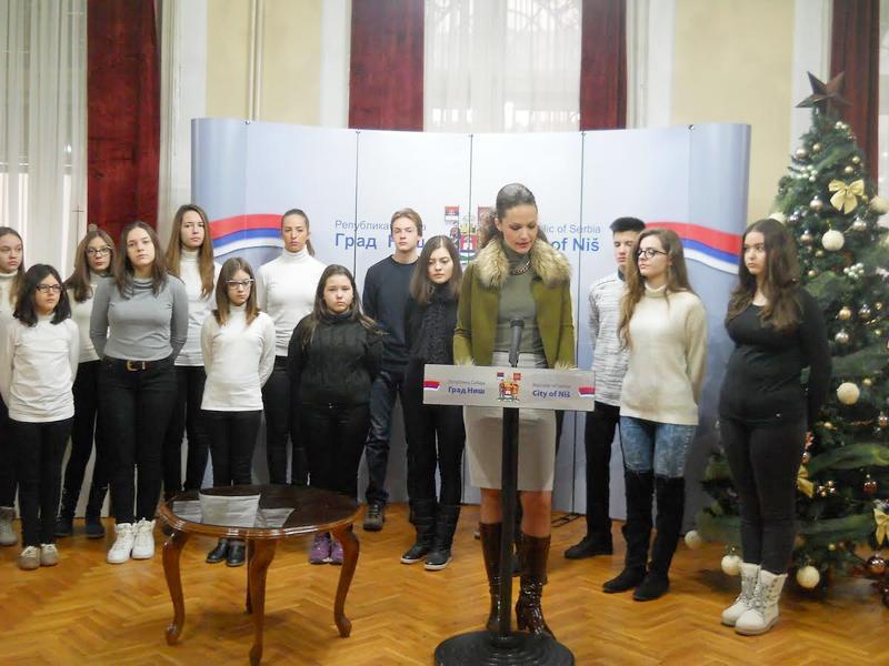 """Niškim djacima za Novu godinu """" Vidovdanske nagrade """""""