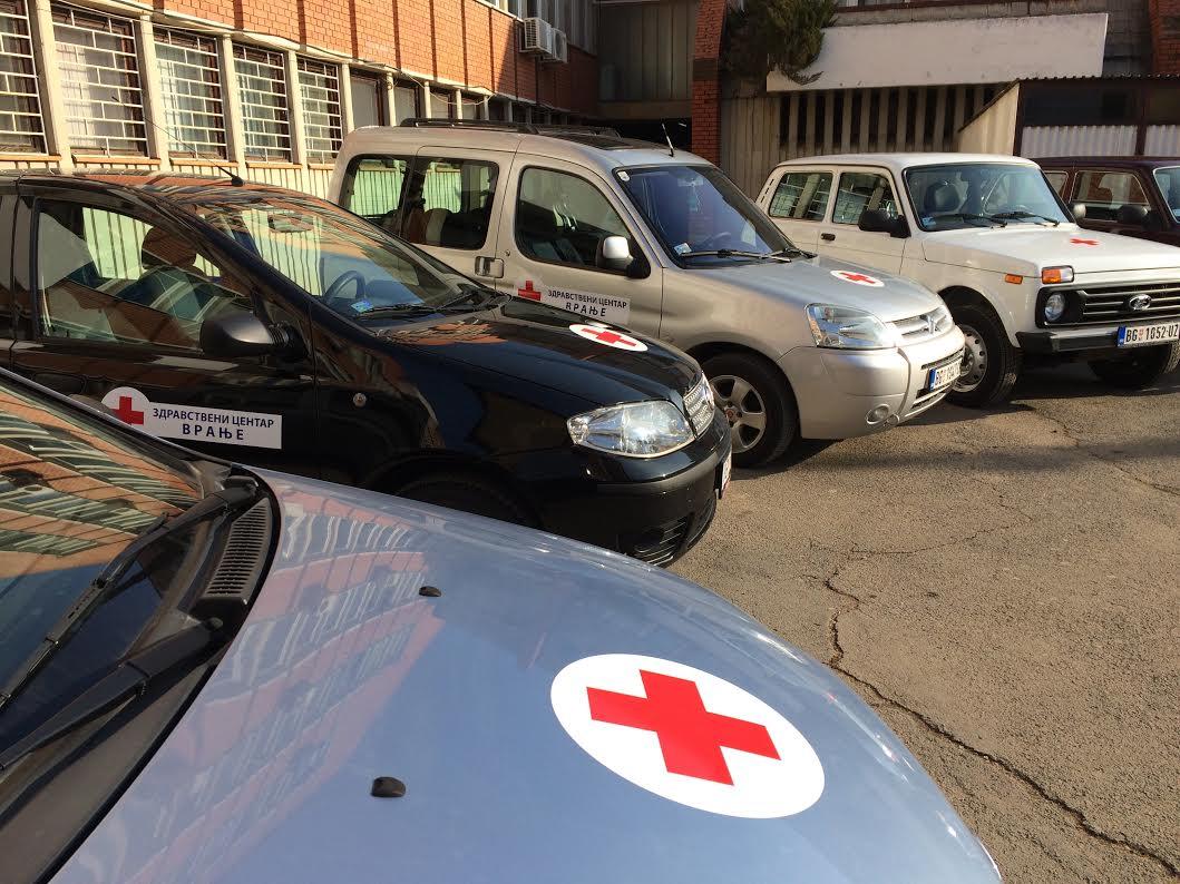 Nova vozila stigla u ZC Vranje