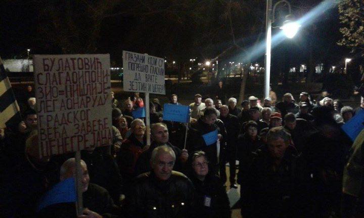 Svakodnevni protesti zbog visokih računa za grejanje