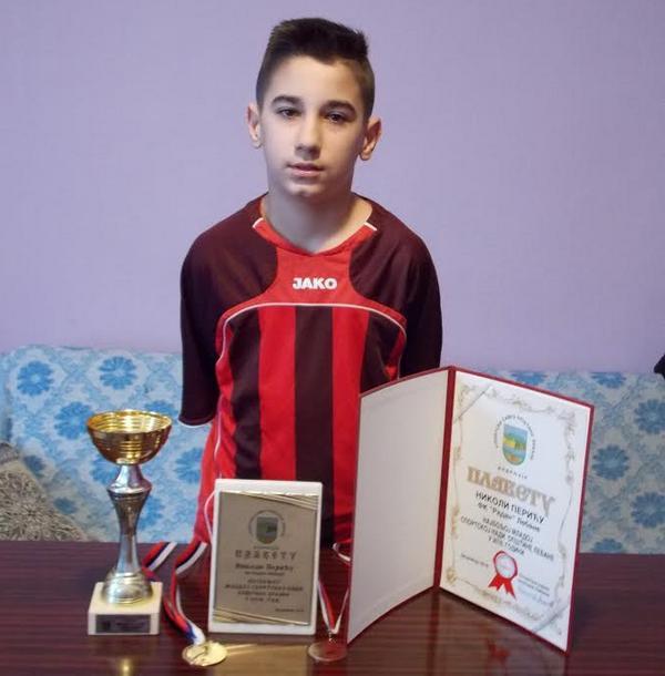 Nikola Perić, najveća sportska nada lebanskog fudbala