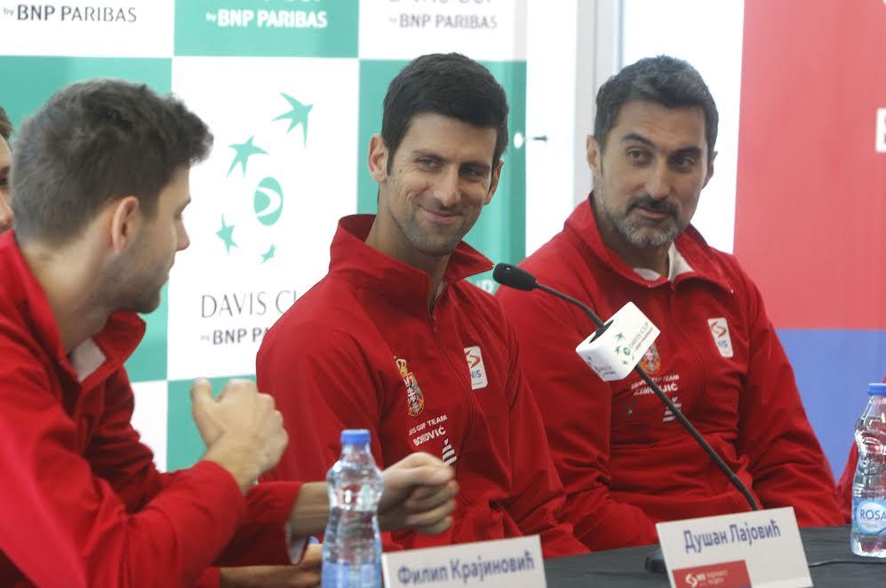 Sutra u Nišu otvoreni trening srpskih tenisera