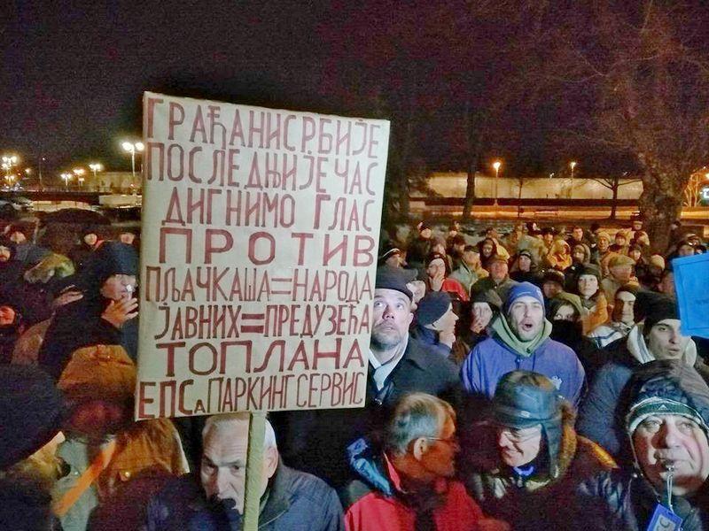Protest zbog paprenih cena grejanja