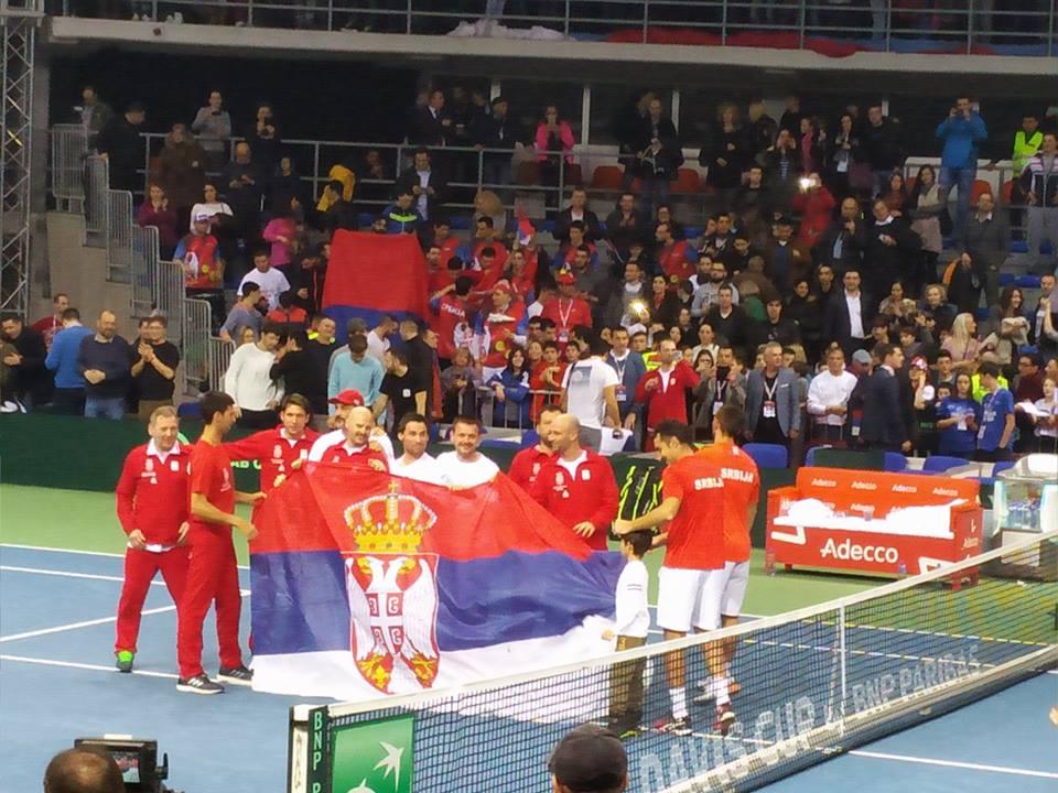 """Srpski teniseri """"preskočili"""" Ruse, sad priželjkuju Špance"""
