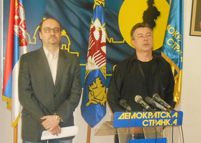 DS: Za Sašu Jankovića jer se zalaže za vladavinu prava