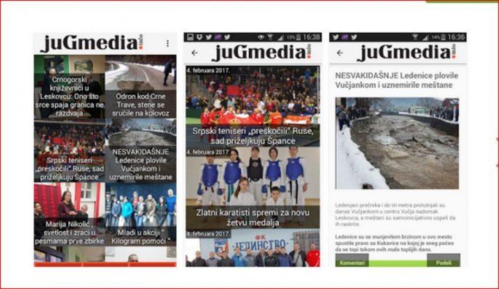 Preuzmite aplikaciju Jugmedie