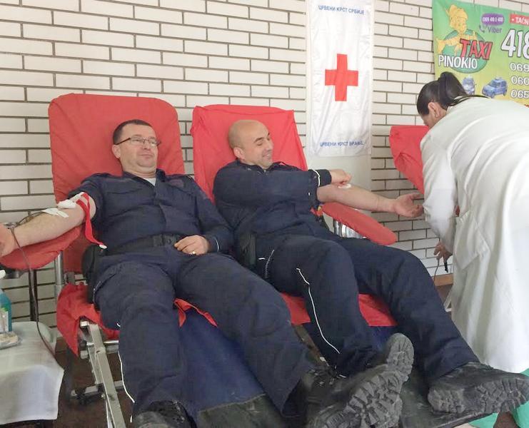 Policija u Vranju prikupila 130 jedinica krvi
