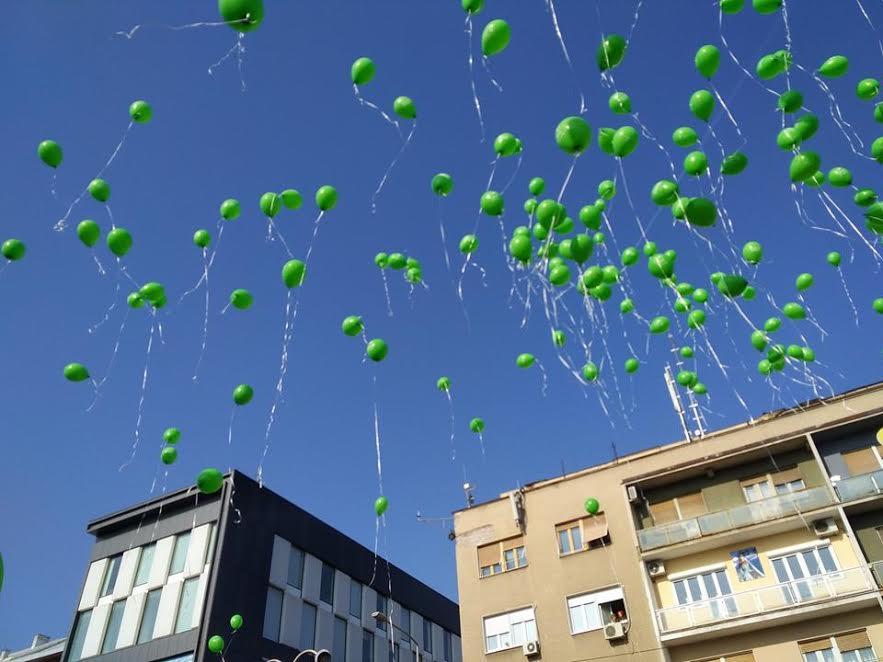 Baloni podrške za obolele mališane i u Nišu